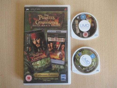Pirates of the Caribbean Dead Man's Chest Collectors Edition (PSP)